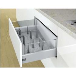 Лоток для ложек и вилок в ящикOrgaStore 600 800*L500 Серебро