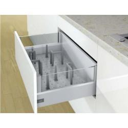 Органайзер для столовых приборовOrgaStore 600 900*L500 Серебро