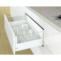 Лоток для приборовOrgaStore 600 500*L500 Серебро