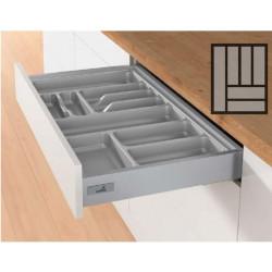 Лоток под столовые приборыOrgaTray 440 450*L470-520 Серый