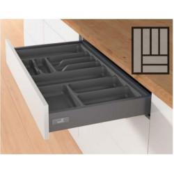 Лоток для столовых приборов пластикOrgaTray 440 450*L470-520Антрацит