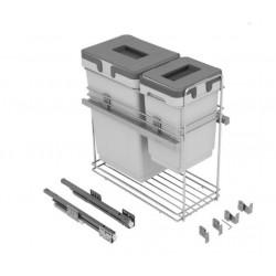 Системы сортировки для кухни VIBO модуль 300 с довод. 20+9л