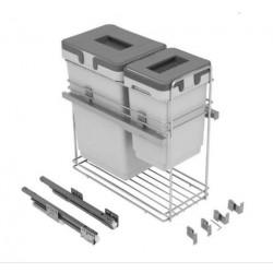 Системы сортировки для кухни VIBO 300 с доводчиком 20+9л