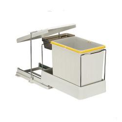 Встроенное мусорное ведро для кухни 16+1 л автомат