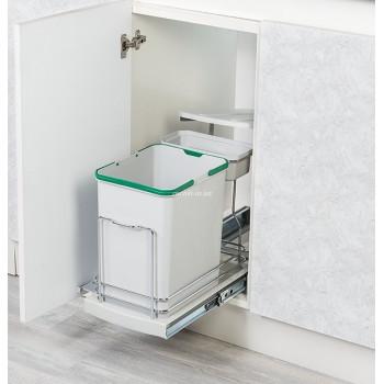 Купить Встроенное мусорное ведро для кухни STARAX 1+16л ВСТРОЕННОЕ МУСОРНОЕ ВЕДРО ДЛЯ КУХНИ от Мебельная фурнитура STARAX (Турция)
