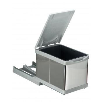 Купить Встроенное мусорное ведро для кухни автомат 12л ВСТРОЕННОЕ МУСОРНОЕ ВЕДРО ДЛЯ КУХНИ от Мебельная фурнитура Pelikan (Турция)