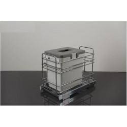 Мусорное ведро для кухни VIBO PETдля модуля 300 (1 ведро)