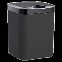 Сенсорное мусорное ведро JAH 15 л квад. черный