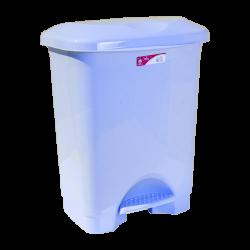 Ведро для мусора с педалью Irak Plastik Stella 45л голубое