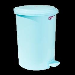 Ведро для мусора с педалью Irak Plastik №4 35 л светло-зеленое