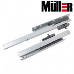 Направляющие скрытого монтажа PO L=450 Muller profi line PushOpen
