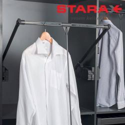 Пантограф в шкаф лифт на 10 кг Starax S-6010-1  антрацит