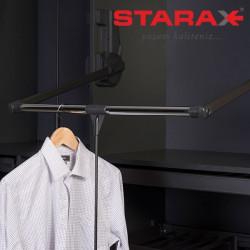 Пантограф в шкаф лифт на 15 кг Starax S-6017  антрацит