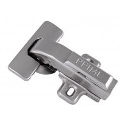 Петля для мебели с доводчиком Clip-on GIFF PRIME 180* d=35 Н=2 никель