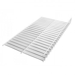Полка решетка для обуви GIFF L=1200 металлик