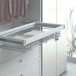 Полка для одежды центральная хром 564-664мм Muller