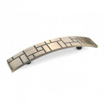 Купить Блестящие ручки матовая латунь DS 07/160 G17 NEW ФИГУРНЫЕ от Мебельная фурнитура ДС