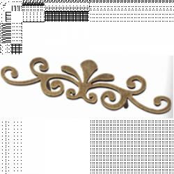 Каталог ручек для фасадов кухни античная бронза Olimpiya 4025 128