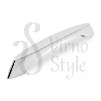 Купить Бронзовые ручки для кухни Virno Style 833/160 хром ФИГУРНЫЕ от Мебельная фурнитура Virno Style