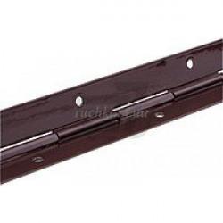 Петля рояльная эмалированная дл. 1,70 коричневая