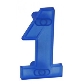 Купить Детские ручки мебели купитьРП-1 ПРОЗРАЧНЫЙ СИНИЙ РУЧКИ ДЛЯ ДЕТСКОЙ МЕБЕЛИ от Poliplast (Италия)