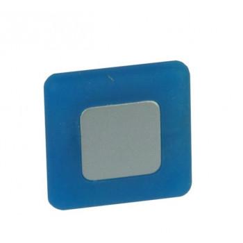 Купить Ручка мебельная квадратная детскаяРП-14 РЕЗИНОВЫЙ СИНИЙ РУЧКИ ДЛЯ ДЕТСКОЙ МЕБЕЛИ от Poliplast (Италия)