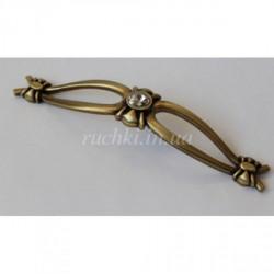 Ручка мебельная Alliste NC 274.160 AEB античная бронза