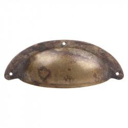 Ручки ракушки для кухниMarella CL 15122.96 античная бронза