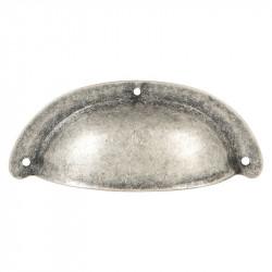 Мебельные ручки ракушкиMarella CL 15122.77 античное серебро