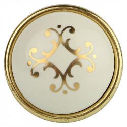 Фарфоровые ручки для мебелиMarella CL 24316.01.035 золото