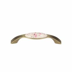 Ручки для мебелиGAMET UP17-0096-G00AB-WHT-17 Латунь античная