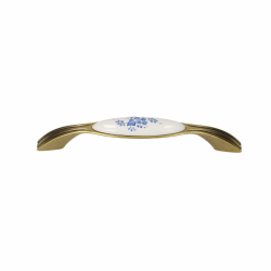 Ручки для мебелиGAMET UP17-G00AB-WHT-16 Латунь античная