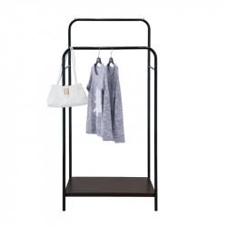 Напольная стойка для одежды чёрнаяЛОФТ 14