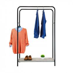 Напольная стойка вешалка для одежды чёрнаяЛОФТ 13Б