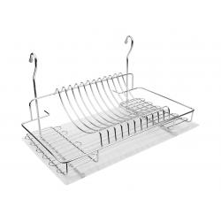 Сушка для посуды навесная 500 мм хром с поддоном R-014 G2 ДС