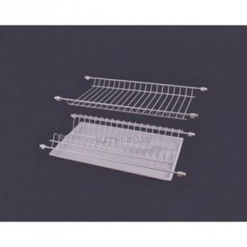 Купить Сушка для посуды белая термопластичная 700мм ДС СУШКА ДЛЯ ПОСУДЫ В ШКАФ от Мебельная фурнитура ДС