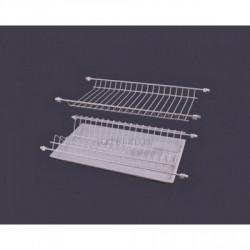 Сушка для посуды белая термопластичная 600мм ДС