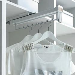 Вешалка выдвижная для одежды верхнего крепления (глубина 455) Muller