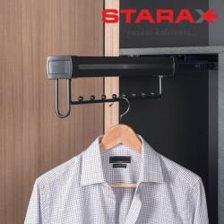 Выдвижная вешалка для одежды верхнего крепления S-6744