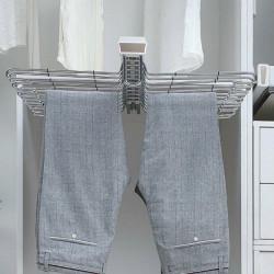 Вешалка для брюк выдвижная верхнего крепления двойная Muller