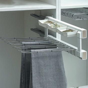 Купить Вешалка для брюк и организатор Muller ВЕШАЛКИ ДЛЯ БРЮК от Мебельная фурнитура MULLER
