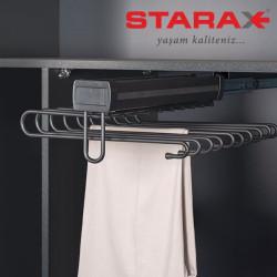Вешалка для брюк выдвижная верхнего крепления S-6772