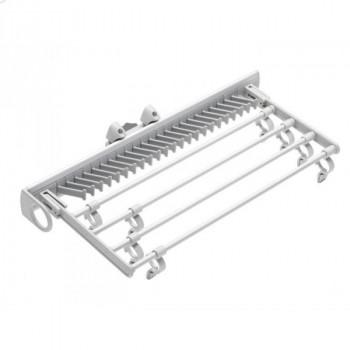 Купить Галстучница серая 455 мм ГАЛСТУЧНИЦА от Мебельная фурнитура GIFF