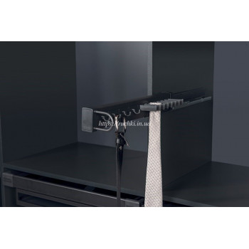 Купить Галстучница 475 мм антрацит (лев.) ГАЛСТУЧНИЦА от Мебельная фурнитура STARAX (Турция)