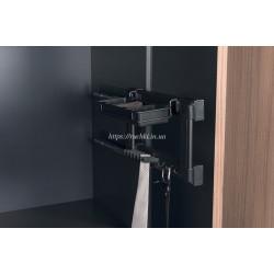 Галстучница 130х475х220 мм антрацит (прав.)
