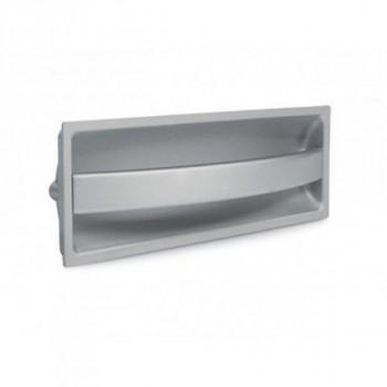 Купить Врезные ручки D-701/160 G9  серебро ВРЕЗНЫЕ от Мебельная фурнитура ДС