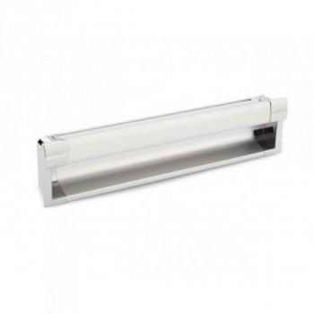 Купить Врезные ручки для мебели D-717/160 G2 AL (D-715) хром ВРЕЗНЫЕ от Мебельная фурнитура ДС