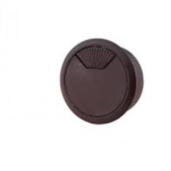 Купить Заглушка для проводов орех темный ДС ЗАГЛУШКИ от Мебельная фурнитура ДС