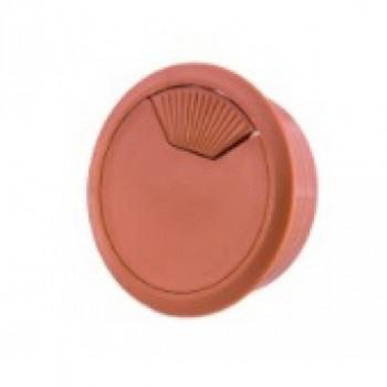 Купить Заглушка для проводов вишня К-04 ДС ЗАГЛУШКИ от Мебельная фурнитура ДС