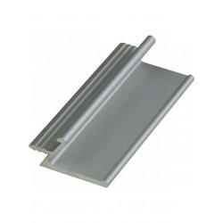 Ручка профиль врезная UKW 2 Zobal алюминиевая L -3500мм 18мм (цена за пог.м)